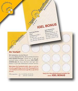 Igel-Bonus-Karte